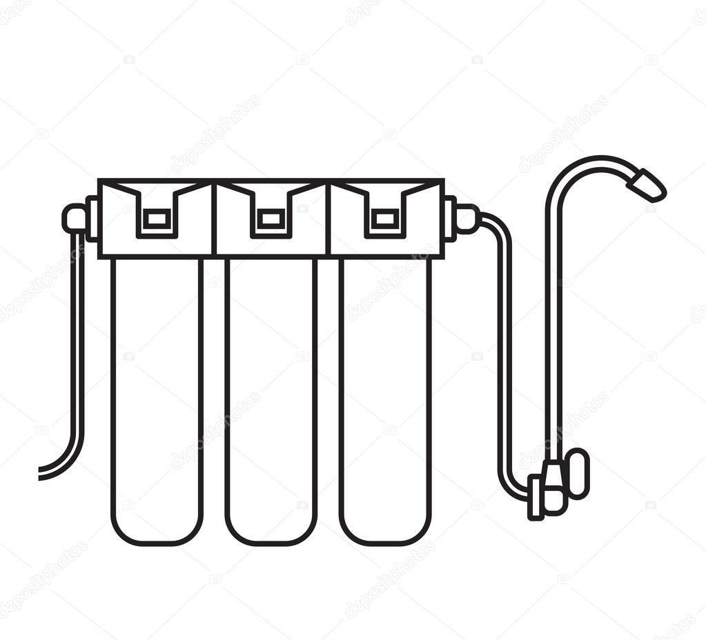 depositphotos 115698790 stock illustration water filter isolated icon