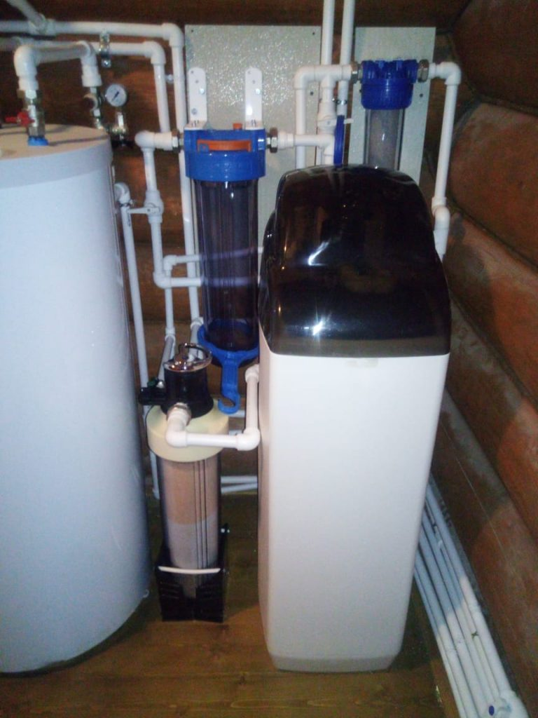 система водоочистки с фильтром УНИРОС