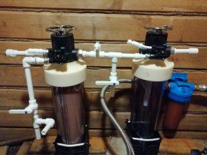система водоочистки от железа УНИРОС
