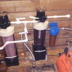 фильтр и аэратор в одной системе обезжелезивания воды