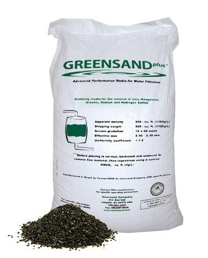 Greensand окислитель в железных фильтрах